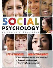 NEW - Social Psychology by Catherine A. Sanderson