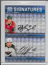 08-09 Be A Player James Sheppard/Colton Gillies Dual Signatures