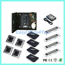 High security zk smart card access control system+Lock with TCP/IP free software