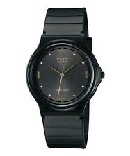 Casio Men's Black Resin Watch, Black Dial, Analog,  MQ76-1A