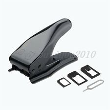Micro/Standard to Nano SIM Card Cutter For iPhone 4 5 6 Mobile Phone Adapters