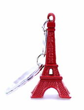 Red Eiffel Tower Charm Phone Car Bag Key ring keyring