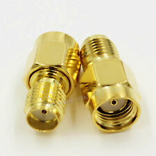 10PCS SMA Female Jack to RP-SMA Male Jack (Female Pin) RF Adapter Connector