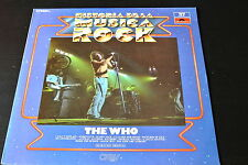 LP the WHO historia de la musica rock SPANISH 1982 VINYL VINILO COMP mod