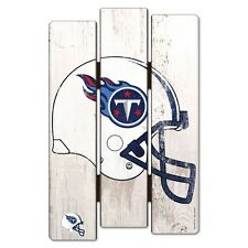 """TENNESSEE TITANS FENCE WOOD SIGN 11""""X17'' BRAND NEW FREE SHIPPING"""