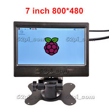 7 inch TFT Color Monitor 800*480 LCD Screen for Raspberry Pi 3 / Pi 2 / B+ / A+
