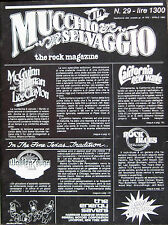 MUCCHIO 29 1980 Roger McGuinn Lee Clayton Ramones Pentangle Warren Zevon Treves
