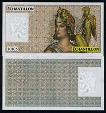 France, French Test Note, Echantillon, 10103