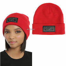 21 Twenty One Pilots Music Band Logo RED Black Watchman Knit Beanie Hat Cap NEW