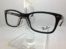 RAY BAN RX 5228 2012 53MM EYEGLASSES RX5228 DARK HAVANA