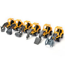 6PCS/Set Engineering Car Models Dump-car Dump Truck Artificial Model  Toy Pop