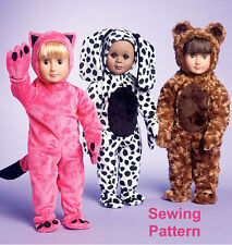 "Kwik Sew K3966 Pattern Clothes for 18"" Doll OSZ BN"