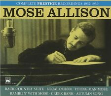 Mose Allison: Complete Prestige Recordings 1957-1959 (3-cd Box Set)