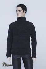 elenpriv black wool sweater for Fashion Royalty doll FR Homme Color Infusion
