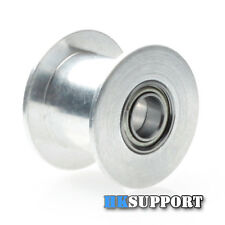 3 x 20T 5mm Bore 10mm GT2 Belt Smooth Idler Pulley with Bearings for 3D Printer