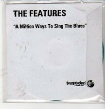 (CZ73) The Features, A Million Ways to Sing the Blues - DJ CD