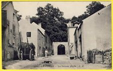 cpa 92 - CHAVILLE (Hauts de Seine) La FAUSSE PORTE CHARETTE de FOIN CHIEN