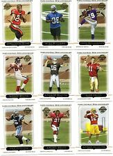 2005 TOPPS COMPLETE SET RC'S ALEX SMITH, AARON ROGERS