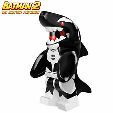 BATMAN Movie Orca Justice League super heroes DIY Minifigures Kids Toys Gifts
