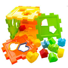 Plastic Building Blocks Bricks Puzzle Early Educational For Toys Children