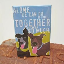 Greyhound Together Art Magnet (GO012MAGGT) - Free Shipping