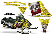 AMR Racing Sled Wrap Ski Doo Rev Snowmobile Graphic Kit 2003-2007 COLLECTOR YLO