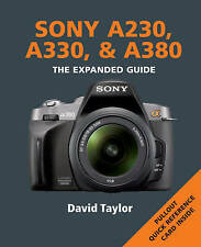 Sony A230, A330 and A380 by Taylor, David ( Author ) ON Jun-03-2010, Paperback,