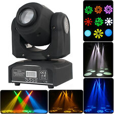 30W DMX512 LED Pattern Stage Par Moving Head Light Club Party DJ Lighting Lamp