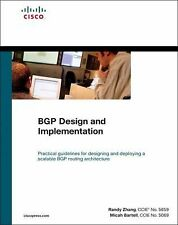 BGP Design and Implementation by Randy Zhang and Micah Bartell (2004, Hardcover)