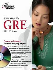 Cracking the GRE with DVD, 2011 Edition (Graduate School Test Preparation) Prin