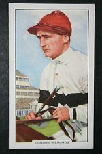Gordon Richards  Champion Jockey    Original 1930's Vintage Card