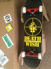 Death wish skateboard 31.5 inch x 8.5
