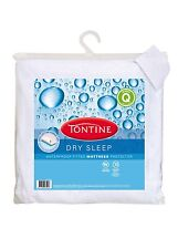 Tontine Dry Sleep Waterproof Queen Size Fitted Mattress Protector 152cm x 208cm