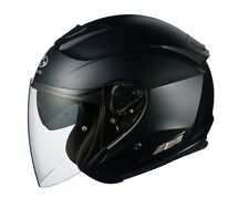 NEW OGK KABUTO ASAGI FLAT(MATT) BLACK L Large  Open Face Helmet Japanese Model