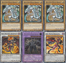 Custom Jack/Seto Deck - Blue-Eyes White Dragon - Red Nova Dragon - Yugioh