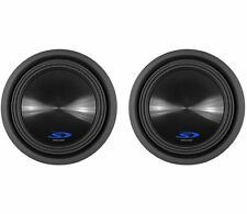 "(2) Alpine Type-S SWS-10D4 10"" 3000 Watt Dual 4-Ohm Car Stereo Subwoofers"