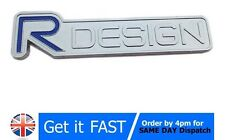 Volvo R design Metal Chrome Badge Emblem Logo Sticker XC60 S40 S80 S60 V60