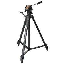 Velbon Videomate 438 Aluminum Tripod with Fluid Pan. U.S Authorized Dealer