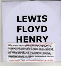 (CJ38) Lewis Floyd Henry, Went to a Party - 2011 DJ CD