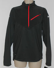Nike sz S Element Thermal Stay Warm 1/2 Zip LS Running Shirt NEW $90  502902 061