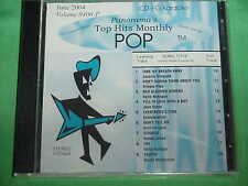 Top Hits Monthly~Pop Karaoke~~Red Blooded Woman~~Take My Breath Away~~CD+G~~406