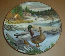 Knowles Collectors Plate THE MALLARD From LIVING WITH NATURE JERNERS DUCKS