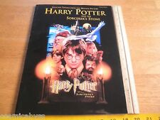 Harry Potter and the Sorcerer's Stone piano sheet music book John Williams