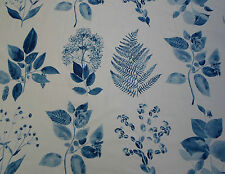 Designers Guild Fabric~'Jindai' 2.75 METRES Indigo 100% Cotton~ Kaori Collection