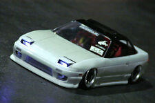 PANDORA 1/10 RC NISSAN ONE-VIA 240SX 196mm Clear Body Drift