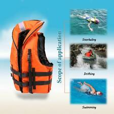 Professional Life Jacket Safety Survival Vest Kayak Canoe Boat with Whistle Y6W3