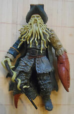 "Pirates of the Caribbean 7"" Davy Jones Menacing Arm Snapping Claw ZIZZLE Figure"