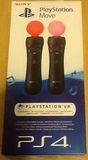 Sony PlayStation Sposta controller di movimento allegati Twin Pack ps3 ps4 NUOVO!