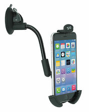 Pulse Black Flexible Car Windscreen Smartphone iPhone Mobile Phone Holder Stand
