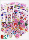 6pcs/lot children's cartoon classic perspective puffy sticker peppa pig kid gift